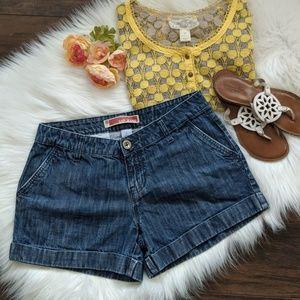 GAP cuffed jean shorts sz8
